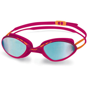 Head Tiger Race Mid Mirrored Goggles, raspberry-blue